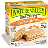 Nature Valley Biscuits, Peanut Butter, 5-ct ,1.4 oz
