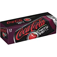 Coca-Cola Cherry Zero Fridge Pack Cans, 12 Count, 12 fl oz