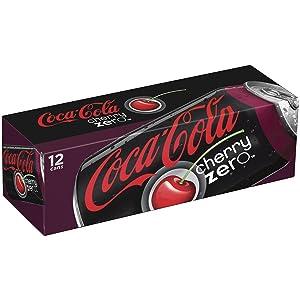 Coca-Cola Cherry Coke Zero, 12 Fl Oz (Pack of 12)