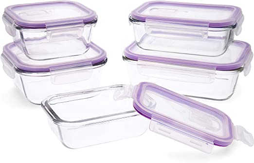 Quid Frost Set de 5 recipientes herméticos para alimentos con tapa ...
