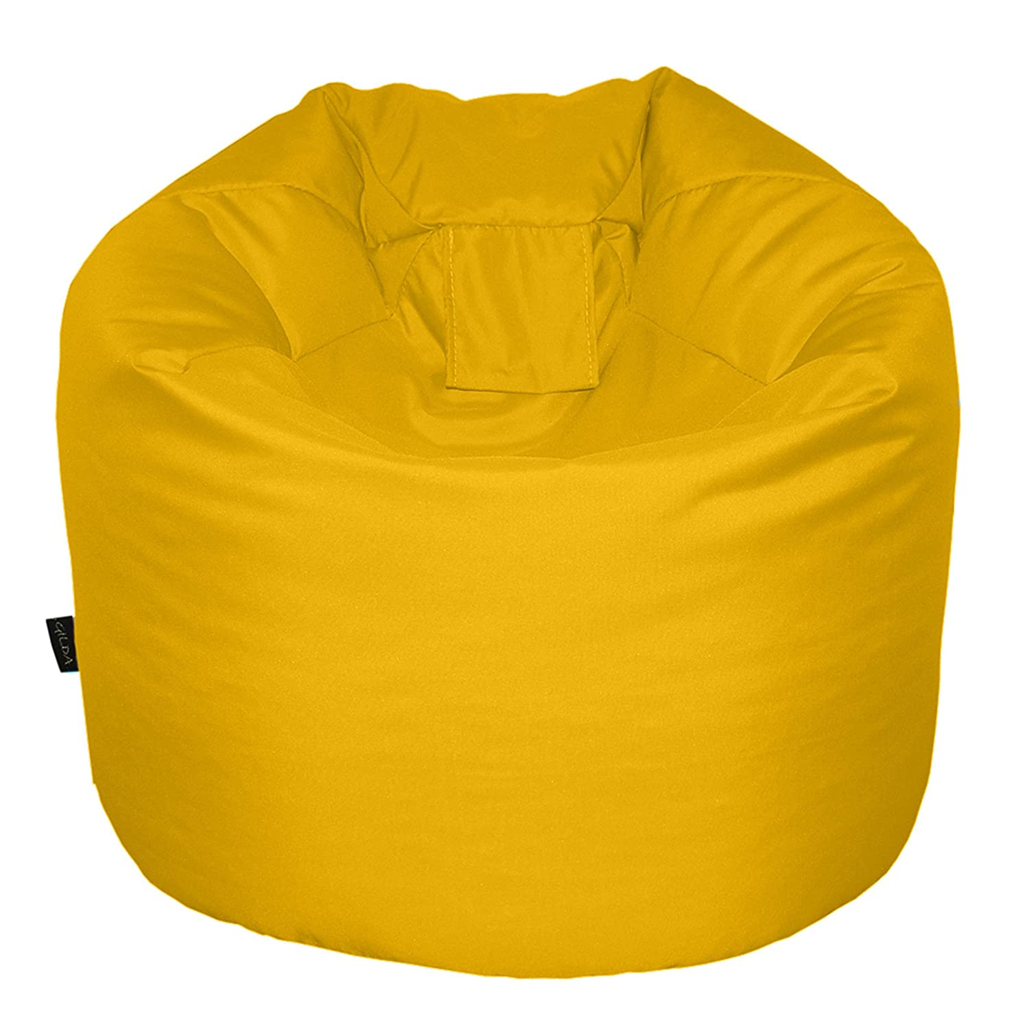 CHILDRENS BEANBAG YELLOW Bean bag Chair Stain & Water Resistant
