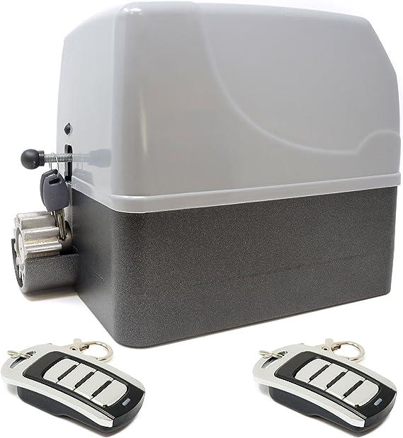 Kit motor para puerta de garaje o cancela de corredera GEKO 400 Kg – 220 v + 2 mandos VDS ECO Rolling Code 4 canales 433 mhz: Amazon.es: Bricolaje y herramientas
