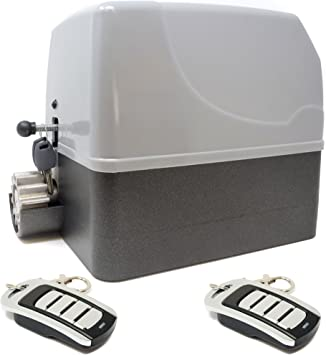 Kit motor para puerta de garaje o cancela de corredera GEKO 400 Kg ...
