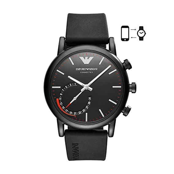3atm Art3010 Armani Connected Smartwatch Alberto Herren Emporio 43mm TF1cKJ3l
