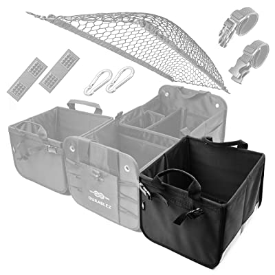 DURABLEZ 3- and 4-Compartment Trunk Organizer Builder: Automotive