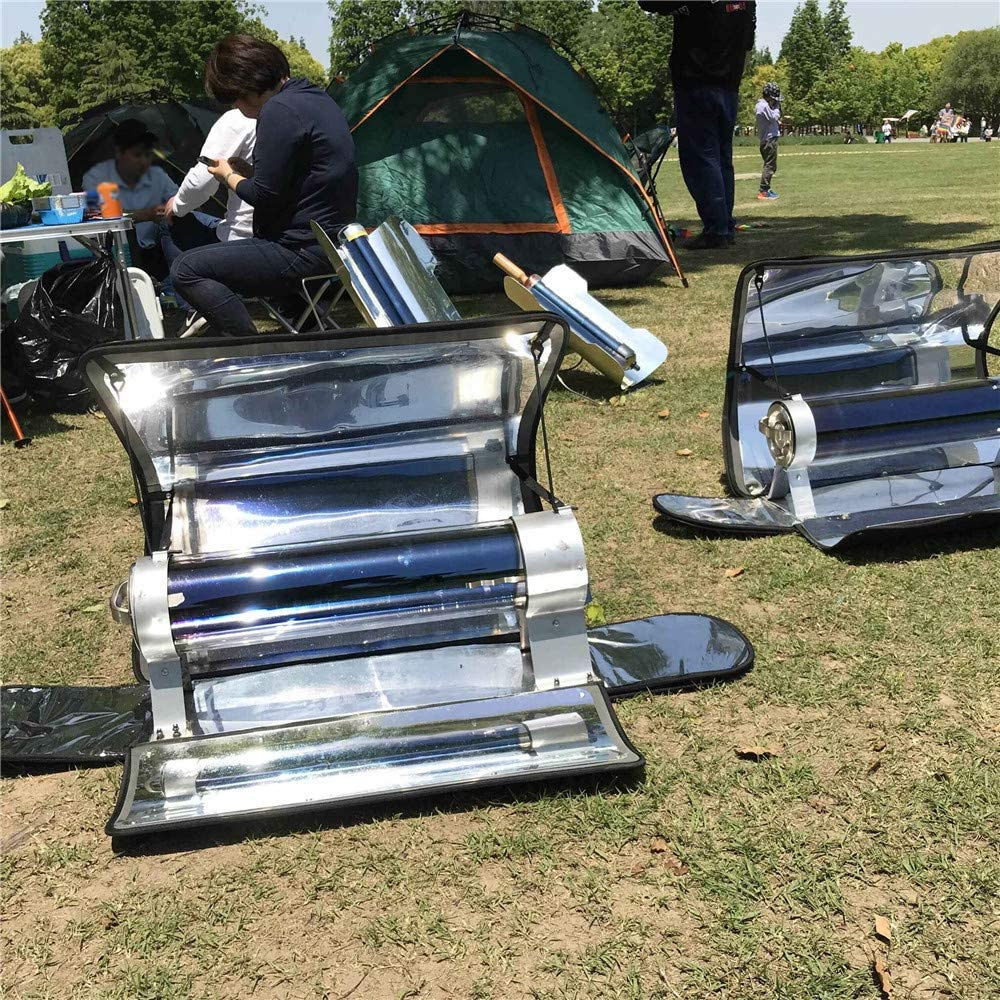 288/°C SEAAN Outdoor Integrated Solar Cooker Portable Parabolic Solar Cooker with Higher Efficiency Maximum Temperature 550/°F