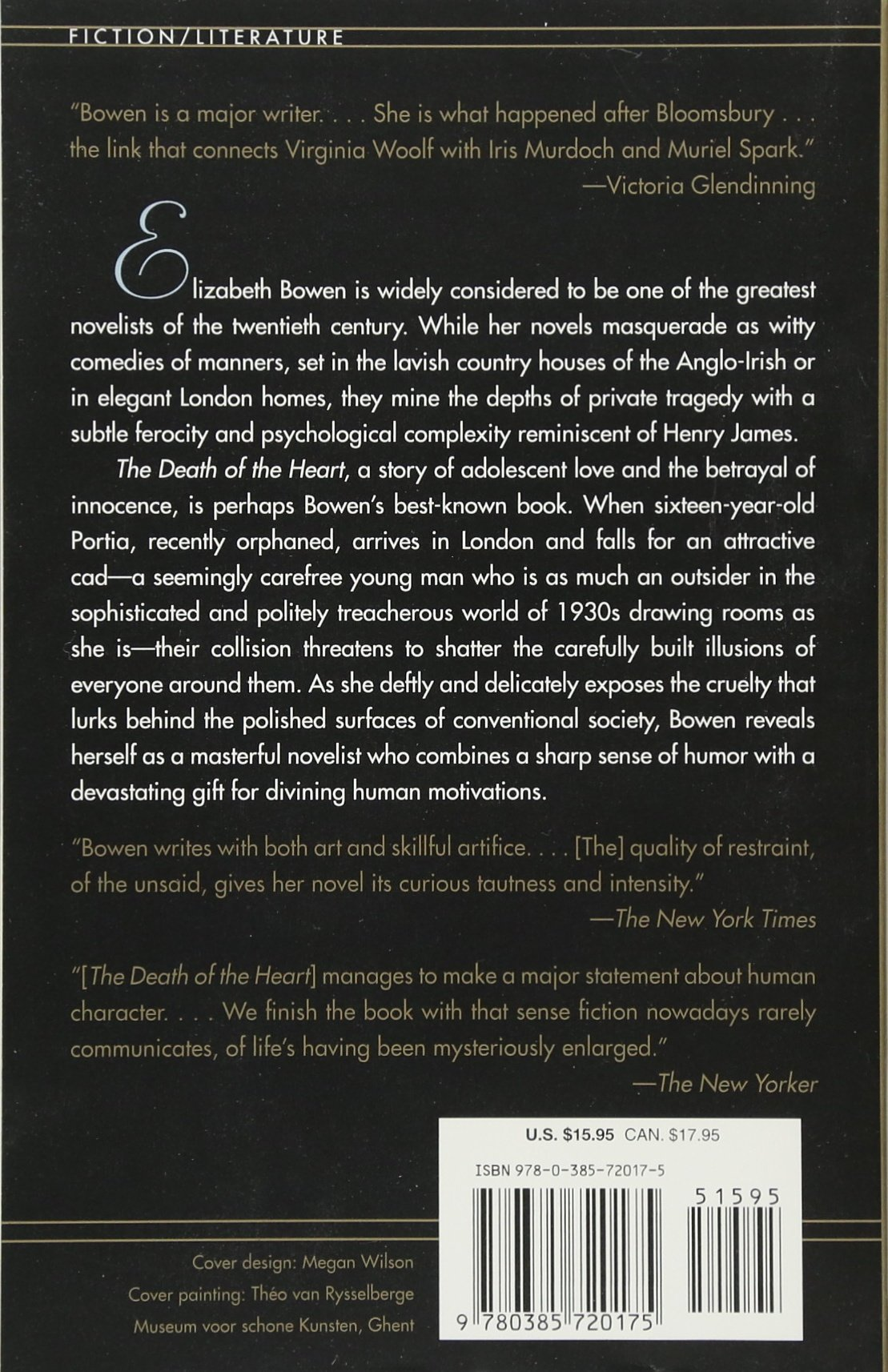Amazon: The Death Of The Heart (9780385720175): Elizabeth Bowen: Books
