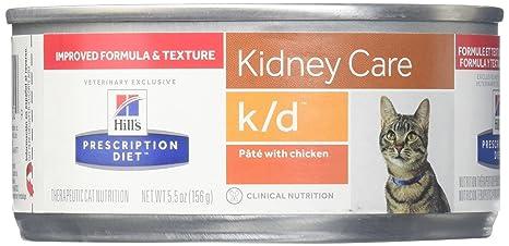 HillS Prescription Diet K/D Feline Renal Health - 24X5.5Oz