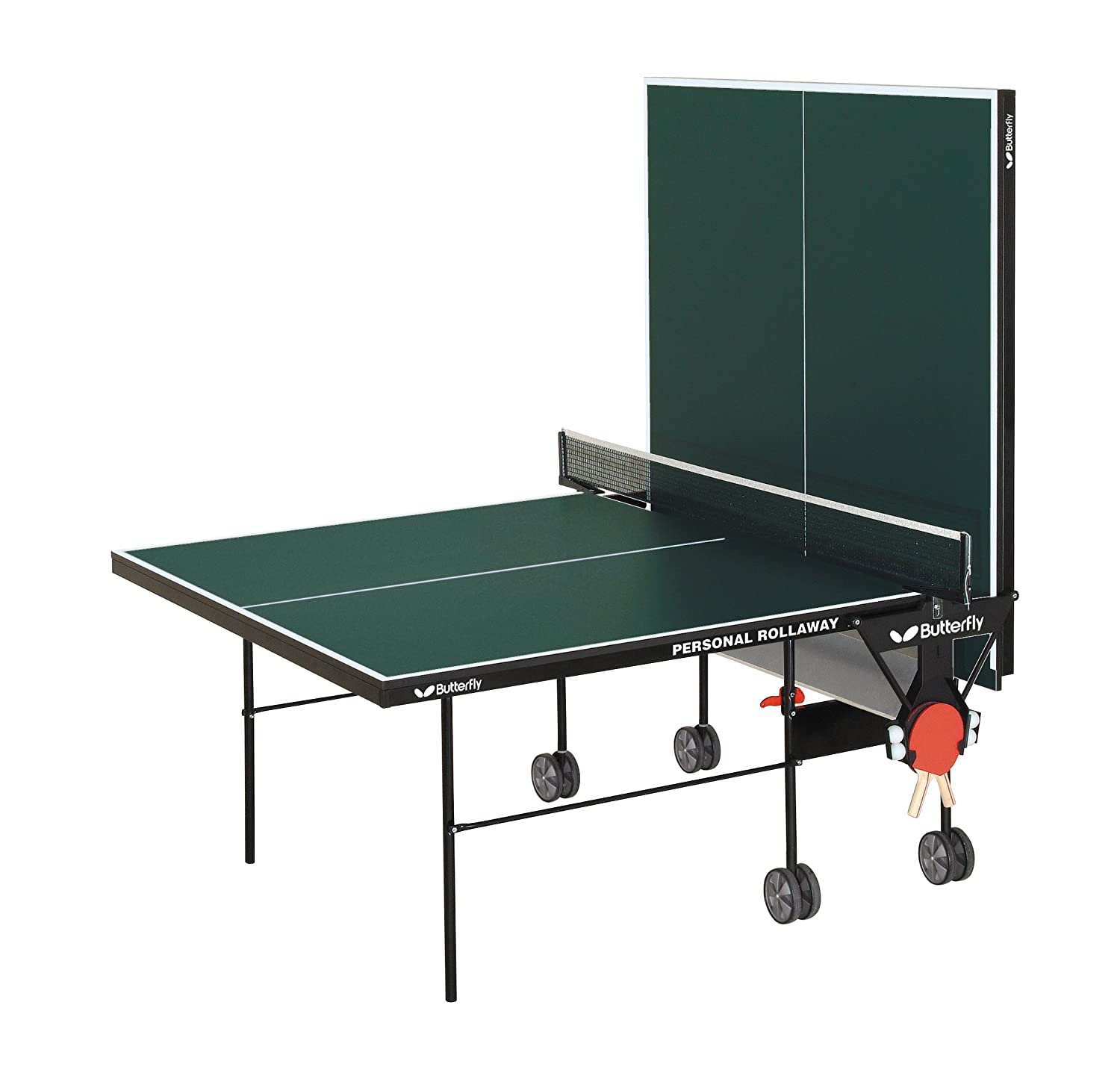 Amazon.com : Butterfly TR21 Personal Rollaway Table Tennis Table (Green) : Ping  Pong Table : Sports U0026 Outdoors