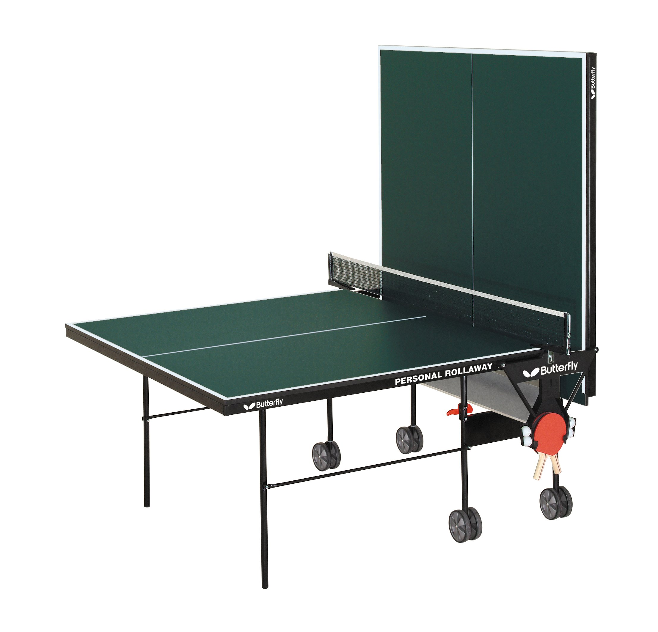 Butterfly TR21 Personal Rollaway Table Tennis Table (Green) by Butterfly