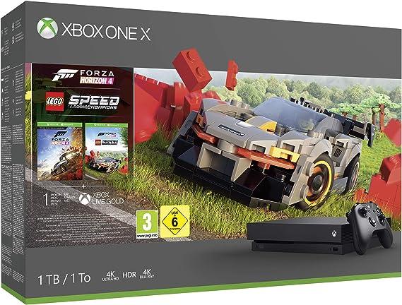 Microsoft - Consola 1 TB, Mando Inalámbrico, Forza Horizon 4, LEGO ...