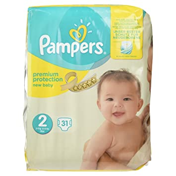talla 3 Pampers Pa/ñales Premium Protection 66 pa/ñales 6-10 kg