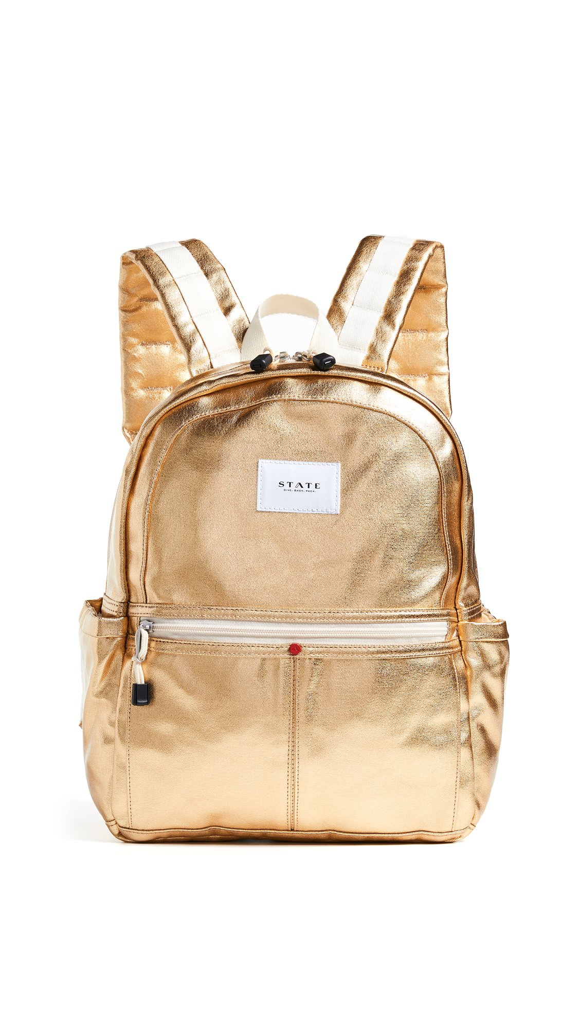 STATE Women's Kane Backpack, Gold, One Size by STATE Bags