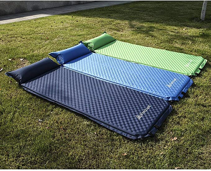 Lightweight Attached Pillow Camping Sleeping Pad