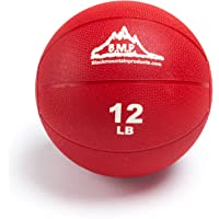 Black Mountain Products Professional Exercise Medicine Ball, Red, 12 Lbs