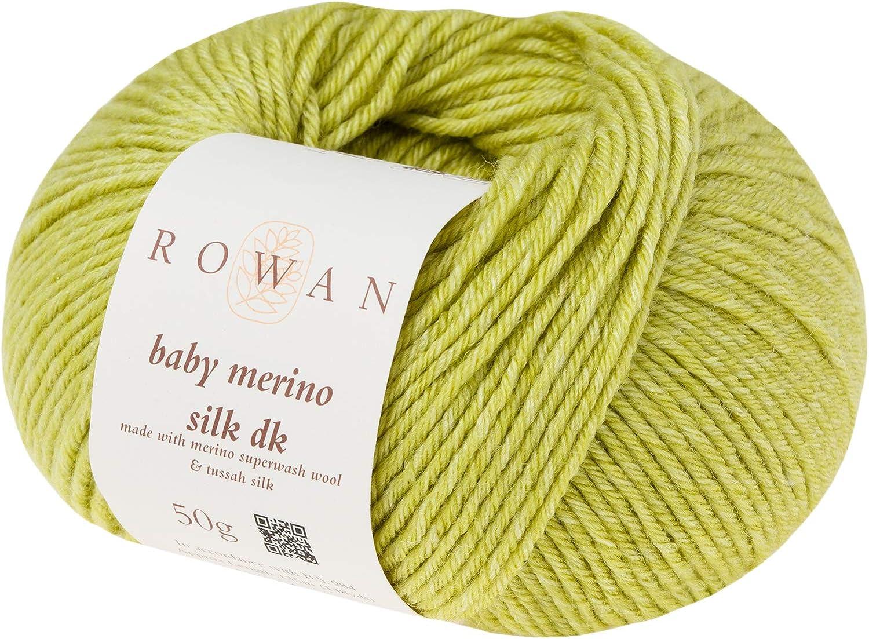 670 Rowan Baby Merino Silk DK Snowdrop by Rowan