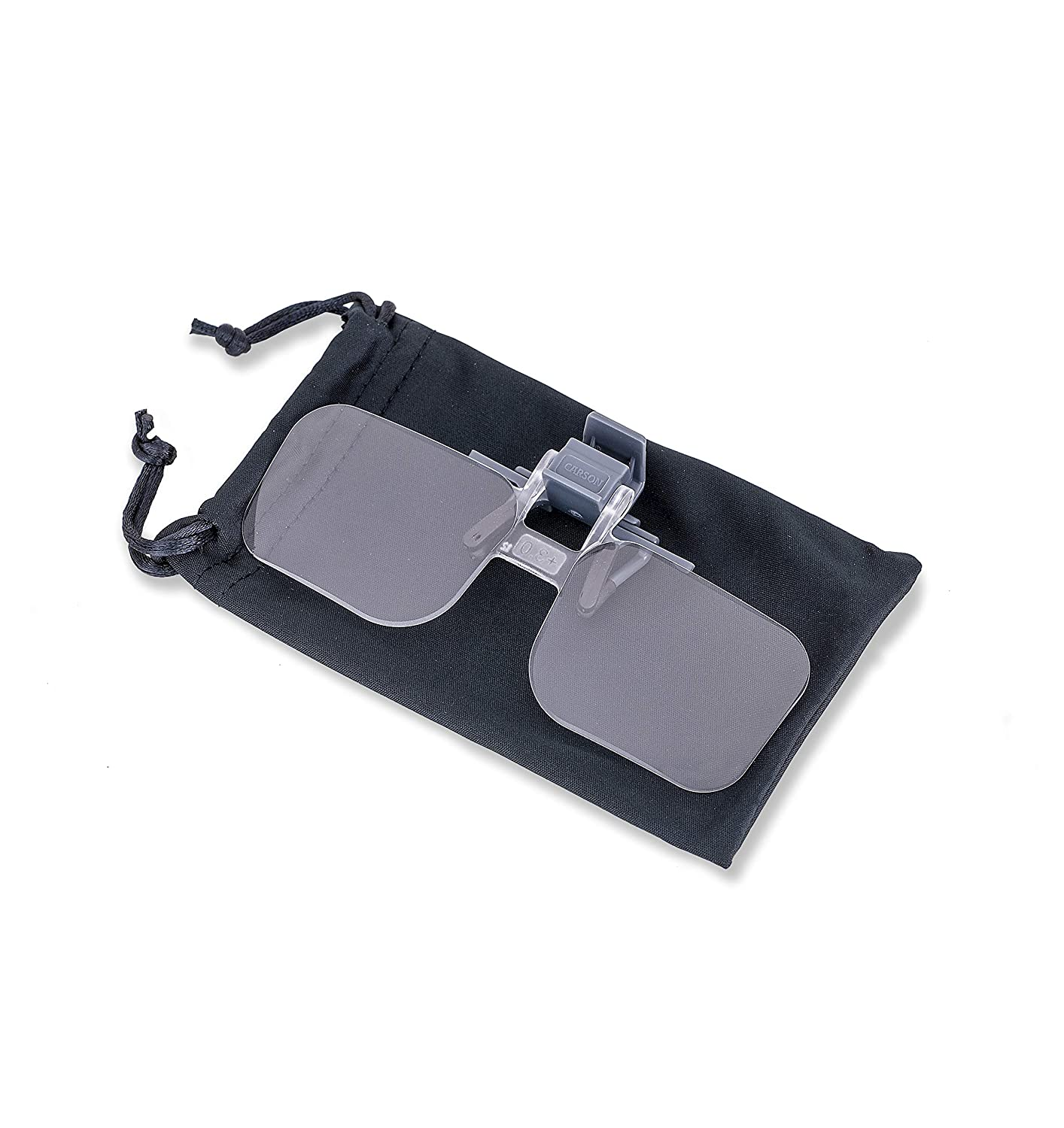 Magnifying Lenses Carson Clip and Flip Hands-Free 1.75x +3.00