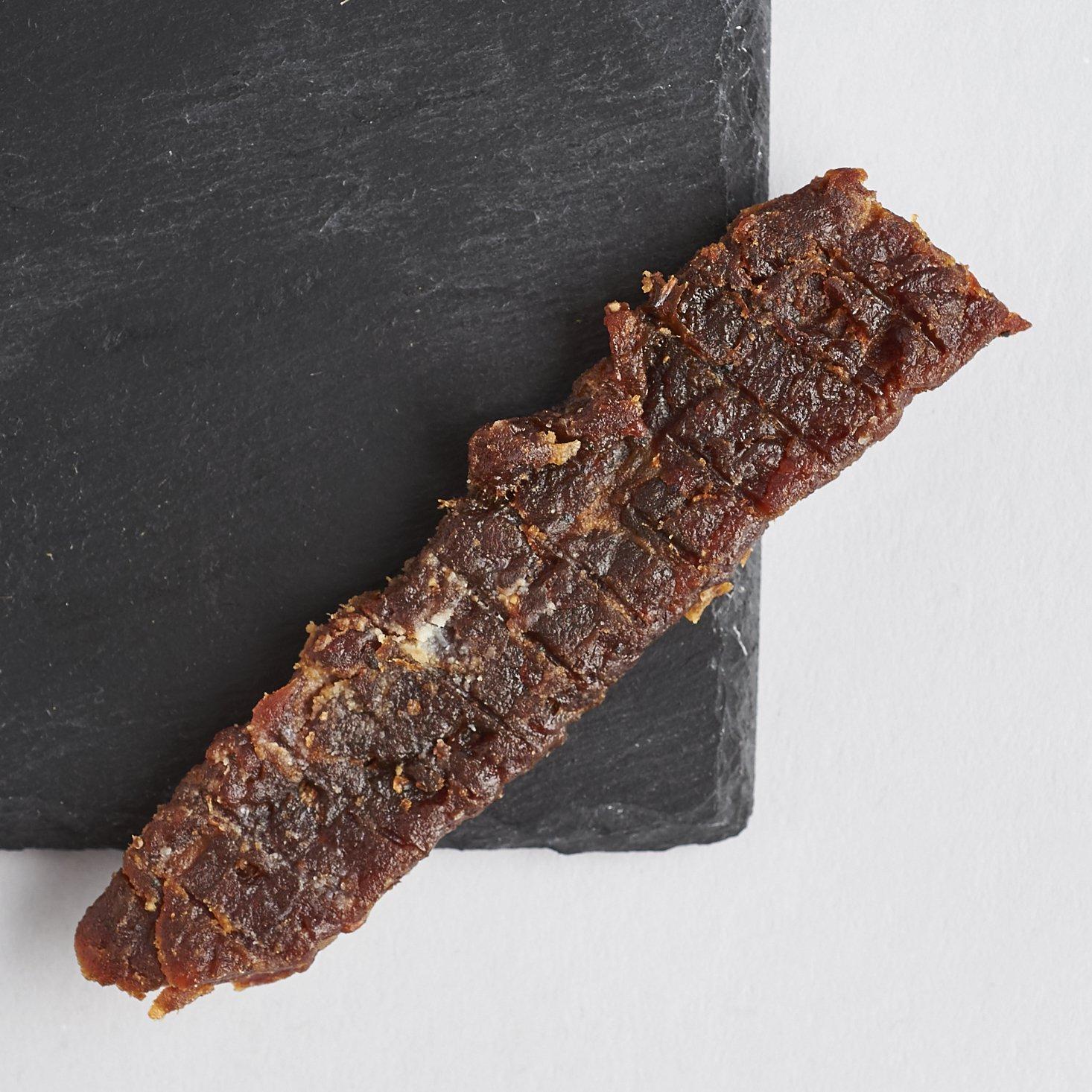 People's Choice Beef Jerky - Tasting Kitchen - Orange Honey Teriyaki - Gourmet Handmade Craft Meat Snack - 1 Pound Bag by People's Choice Beef Jerky (Image #2)