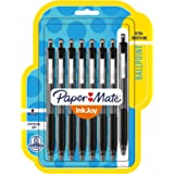 Paper Mate InkJoy 300RT Retractable Ballpoint Pens, Medium Point, Black, 8 Pack (1945920)