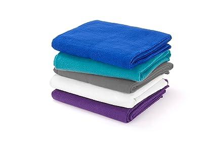 Yogamatters - Manta de algodón para yoga marrón natural ...