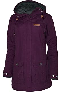 1feeac59c9b Columbia Women s Pine City Ridge Cotton Blend Plush Lined Hooded Jacket