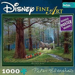Disney Fine Art: off To Home We Go