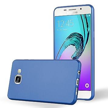 Cadorabo - Carcasa de Silicona para Samsung Galaxy A5 2016 (6) en Color Azul metálico
