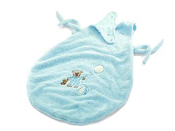 Steiff 238499 - Saco de dormir para bebés diseño Oso en color celeste [Importado de Alemania]: Amazon.es: Juguetes y juegos