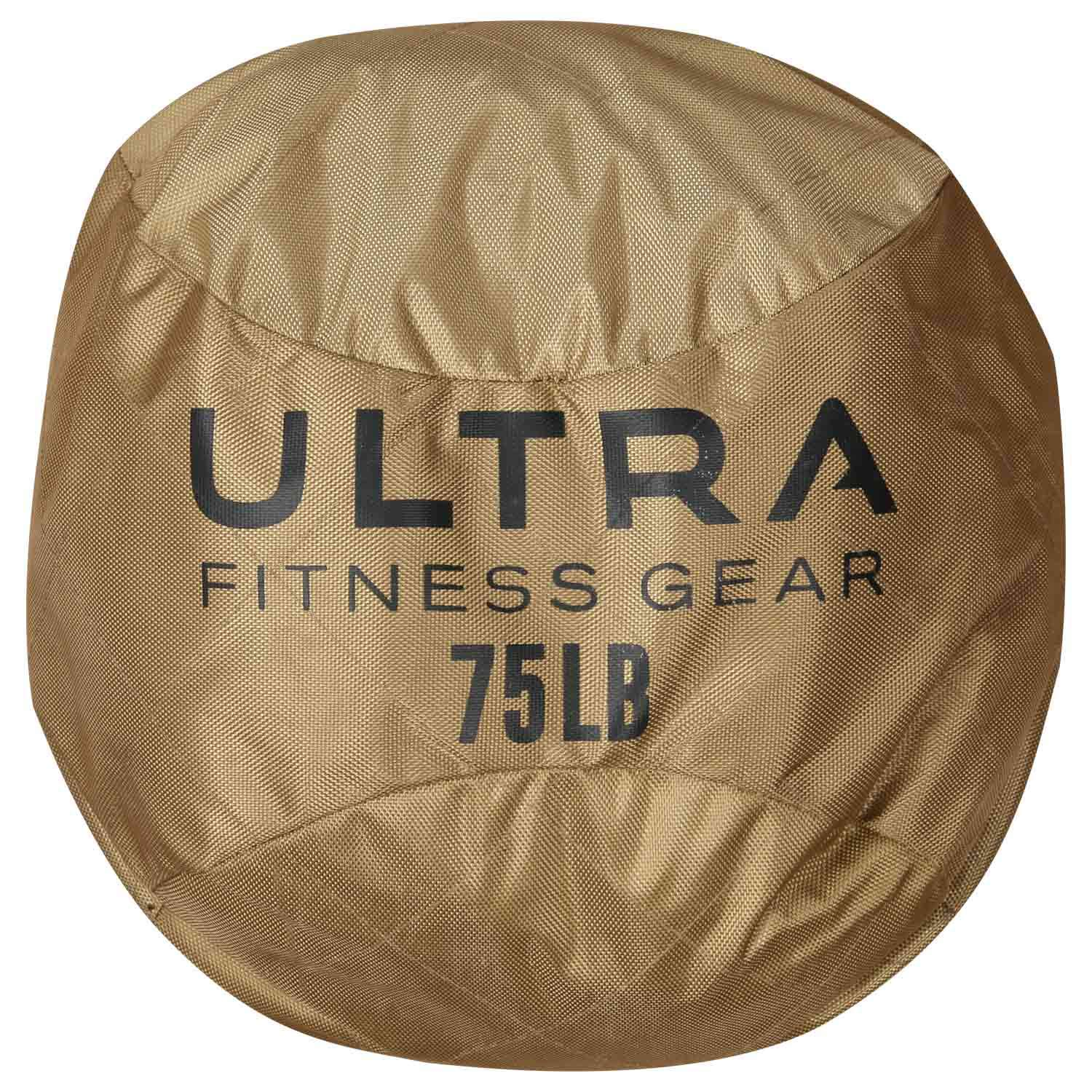 Ultra Fitness Gear Soft Atlas Stone Sandbag, Loadable Up to 75 LB, Includes Ultra Durable Soft Outer Shell and Filler Bag