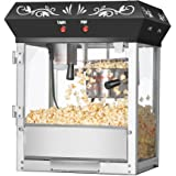 6111 Great Northern Popcorn Black Foundation Top Popcorn Popper Machine, 4 Ounce