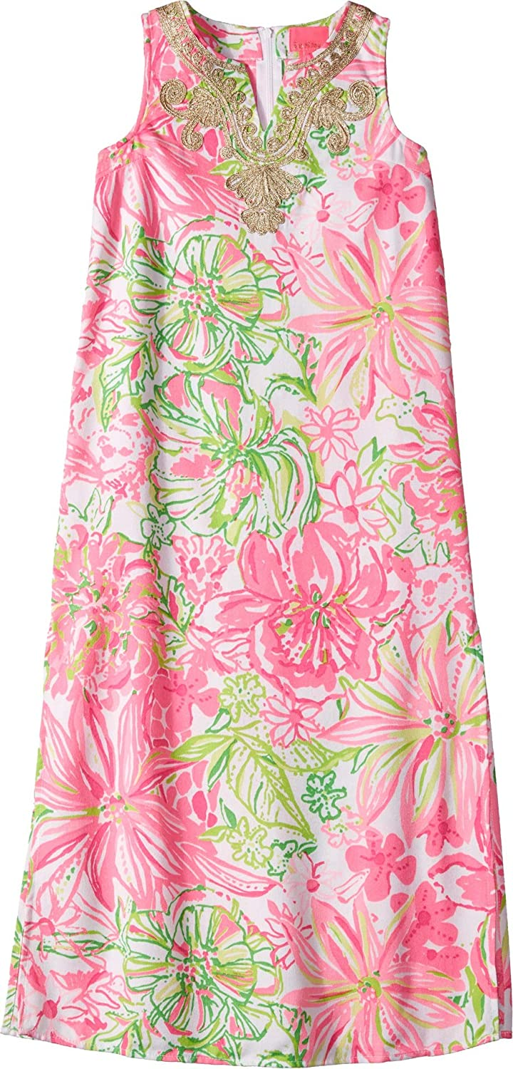 e1fad2d0fc1 Amazon.com  Lilly Pulitzer Kids Baby Girl s Mini Carlotta Maxi (Toddler  Little Kids Big Kids)  Clothing