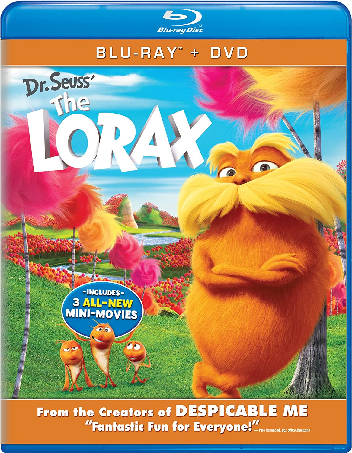 Dr Seuss The Lorax 2 Blu-Ray Edizione: Stati Uniti Reino Unido Blu-ray: Amazon.es: Danny DeVito, The Hollywood Studio Orchestra, Beth Andersen, James Burney II, Alvin Chea, Randy Crenshaw, Monique Donnelly, Taylor Graves,
