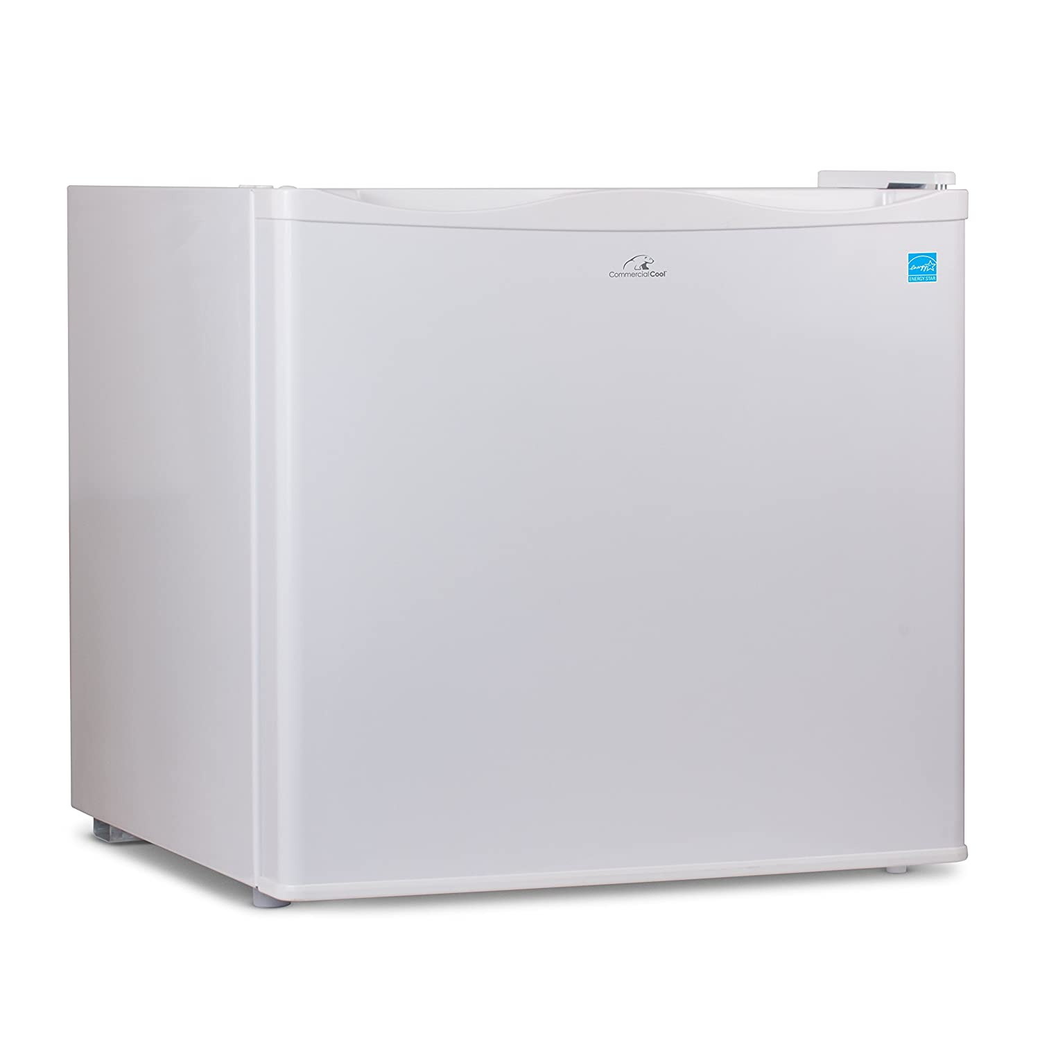 Commercial Cool CCUK12W 1.2 Cu. Ft. Upright Freezer with Adjustable Thermostat Control and R600a Refrigerant, White