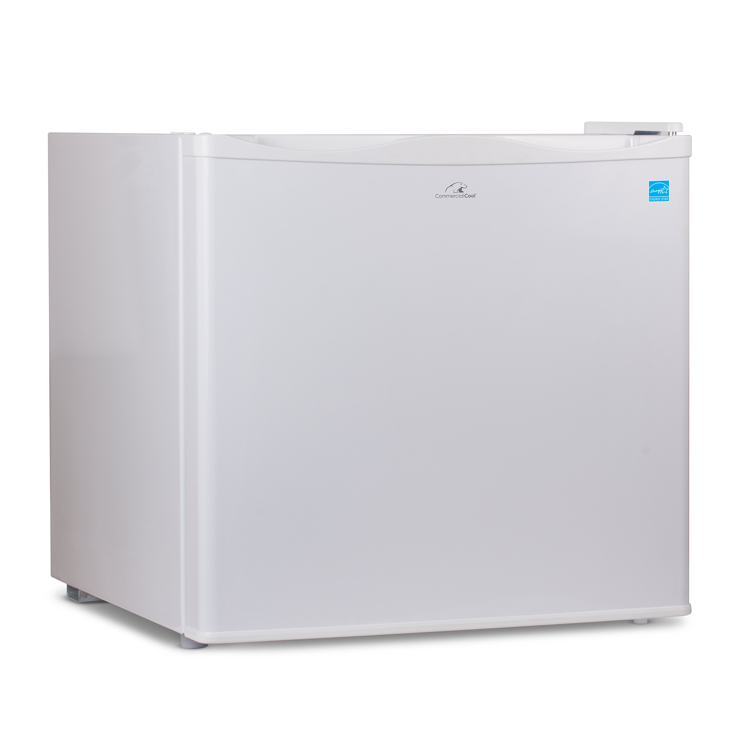 Commercial Cool CCUK12W 1.2 Cu. Ft. Upright Freezer with Adjustable Thermostat Control and R600a Refrigerant, White by Commercial Cool