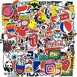 Fashion Brand Stickers, Cool Skateboard Stickers[100pcs], Water Bottle Stickers Vinyl Waterproof Stickers Computer…