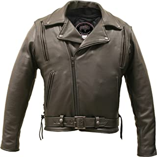 product image for American Bison Vented Biker Jacket (58 Long/Tall)