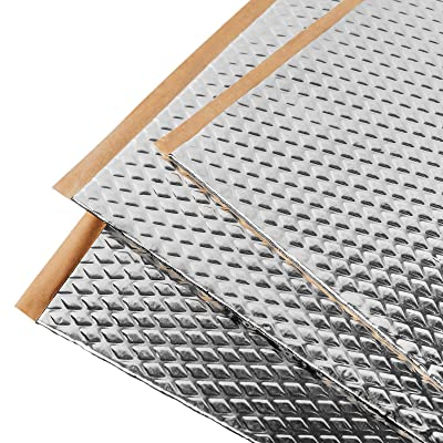 Noico 80 mil 36 sqft car Sound deadening mat, Butyl Automotive Sound Deadener, Audio Noise Insulation and dampening: Automotive