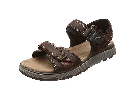 Ipzkuox Sandals Sling Un Trek Clarks Men's Part Back QrWCeBodx