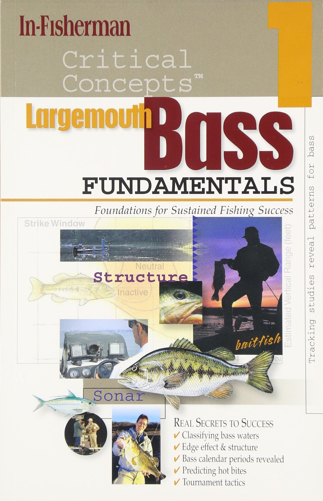 In-Fisherman Critical Concepts 1: Largemouth Bass Fundamentals Book (critical concepts series) ebook