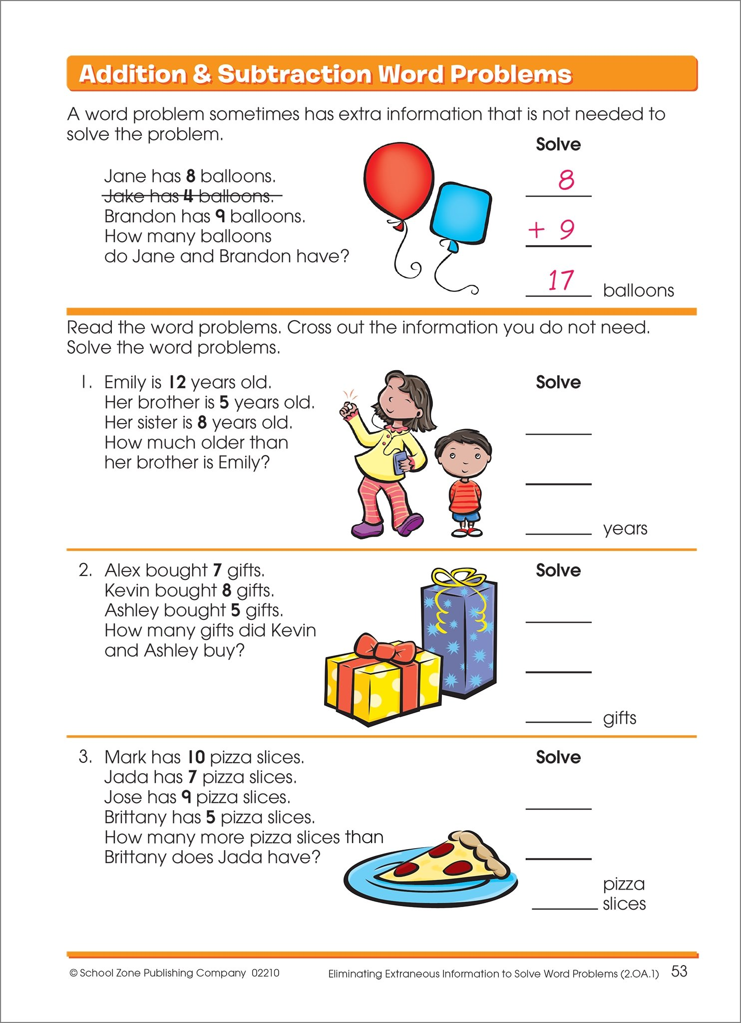 Word Problems Grades 1-2 (I Know It!): Barbara Bando Irvin&#44 Ph.D.,  School Zone Staff, Shannon M. Mullally&#44 Ph.D., Robin Boyer:  0076645022103: ...