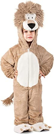 Desconocido Disfraz de Leroy el león para niños pequeños XS (4 ...