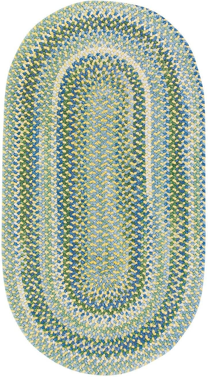 Waterway Parrot Kids Rug Rug Size Oval 11 4 x 14 4
