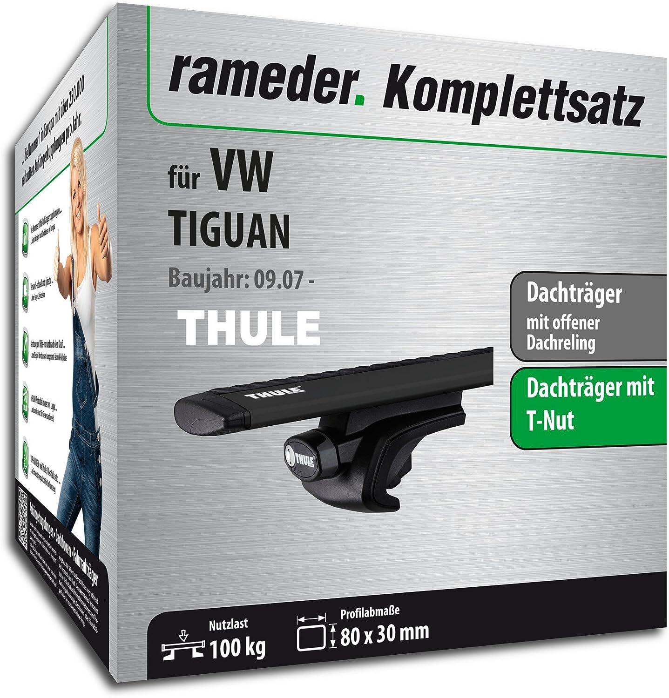 Dachtr/äger WingBar EVO f/ür VW TIGUAN 118176-06397-91 Rameder Komplettsatz