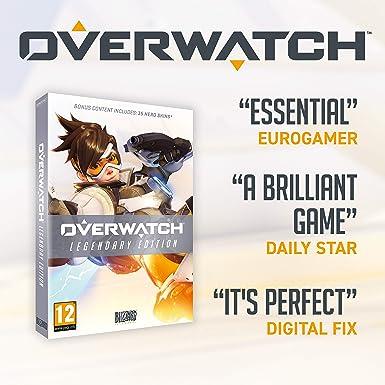 Overwatch Legendary Edition (PC CD) [Importación inglesa]: Amazon.es: Videojuegos