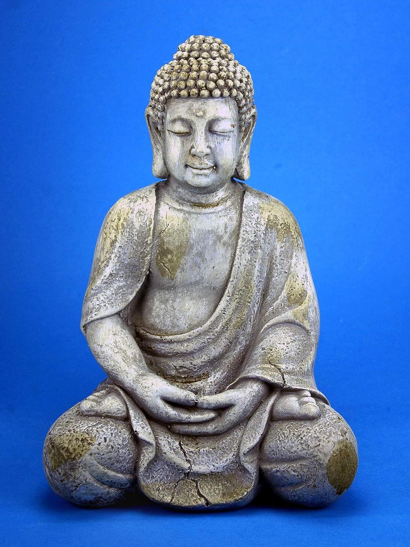 GeKi Trend - Figura de Buda para jardín (30,5 cm, Resistente a Las ...