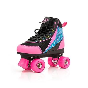Mädchen//Damen Rollschuhe SMJ Sport STELLA Disco Skates Gr 35 36 37 38 39 40 41