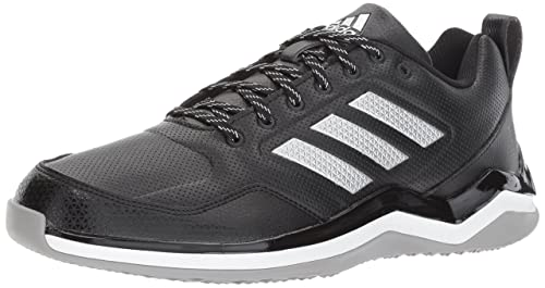 cheaper 61b75 a93ca Adidas Performance Men s Speed Trainer 3 SL Baseball Shoe, Black Metallic  Silver White