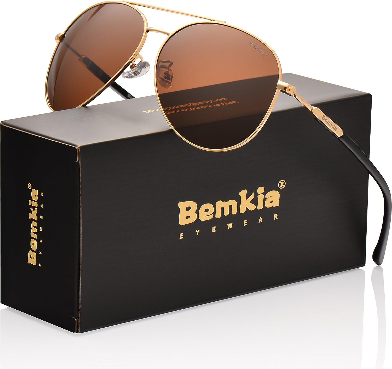 UV400 Protection SUNMEET Aviator Polarized Sunglasses For Men Women