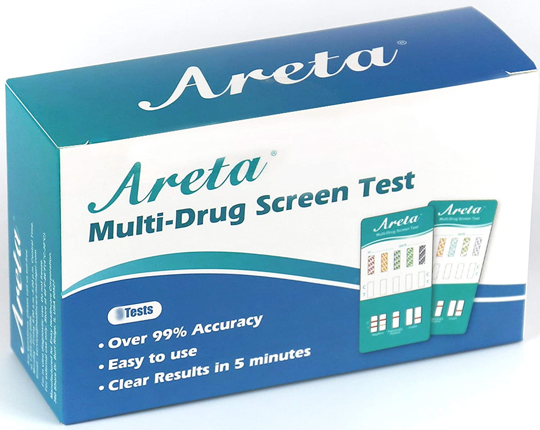 (2 Pack) Areta 10 Panel Dip Test Kits – Screen Testing- #EDOAP-3104