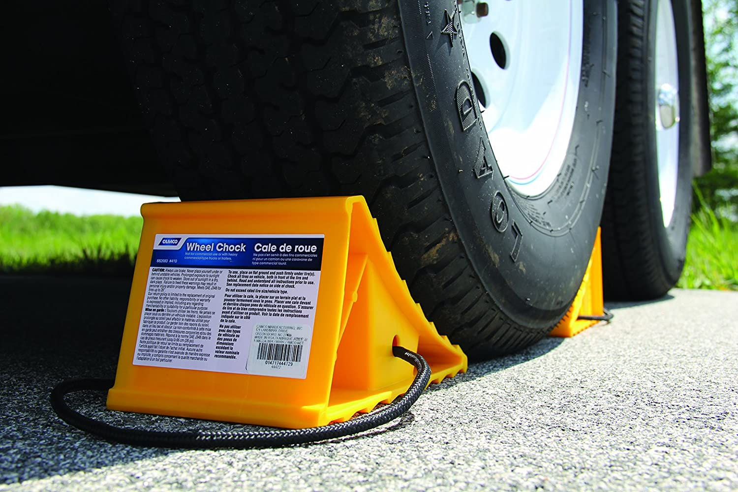 Image result for camco wheel chocks for RV